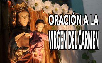 Contigo, Virgen del Carmen | Oración