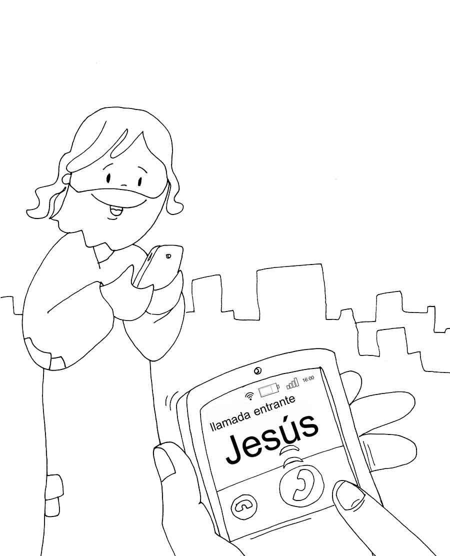 Dibujos para colorear del Domingo de Ramos - Portal católico ...