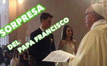 Papa Francisco da una gran sorpresa