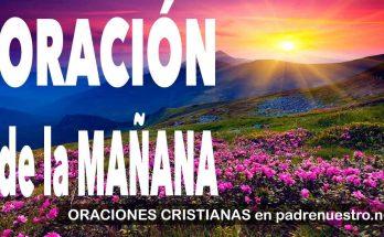 Oración de la mañana | ORACIONES CRISTIANAS