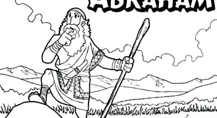 Dibujos de Abraham para colorear - Portal católico padrenuestro.net