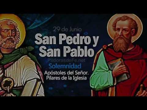Solemnidad de San pedro y San Pablo - 29 de Junio