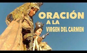 Oración a la Virgen del Carmen [Vídeo]