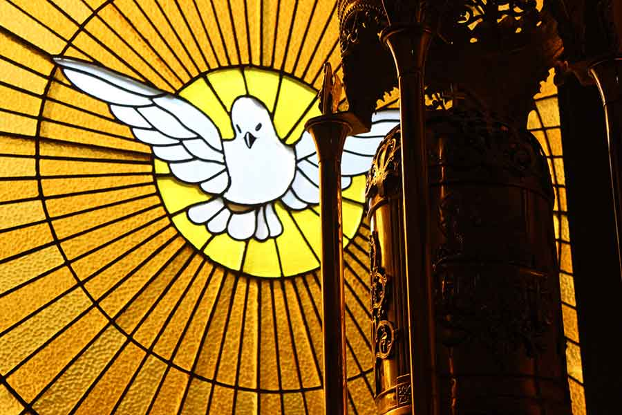 Los cinco minutos del Espíritu Santo