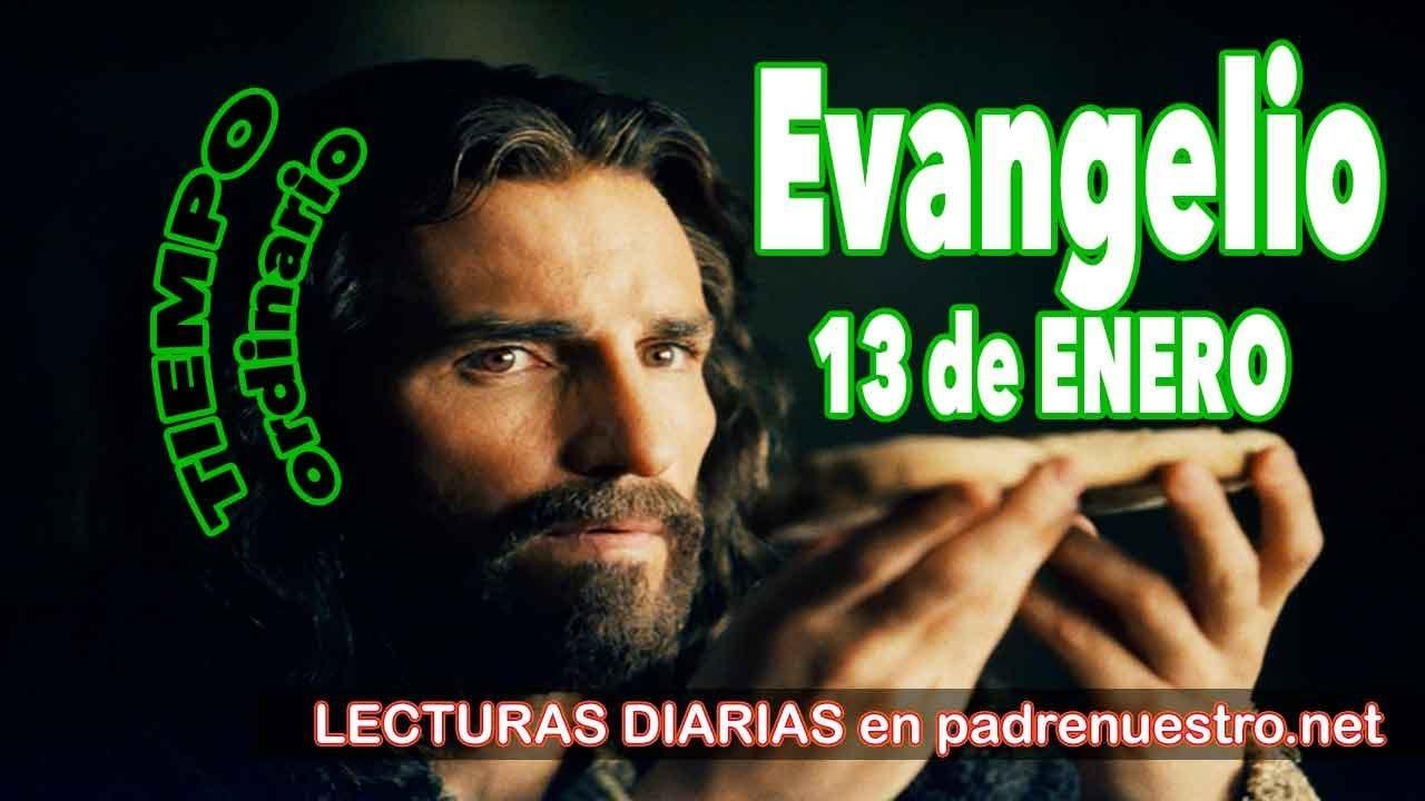 Evangelio del día 13 de enero