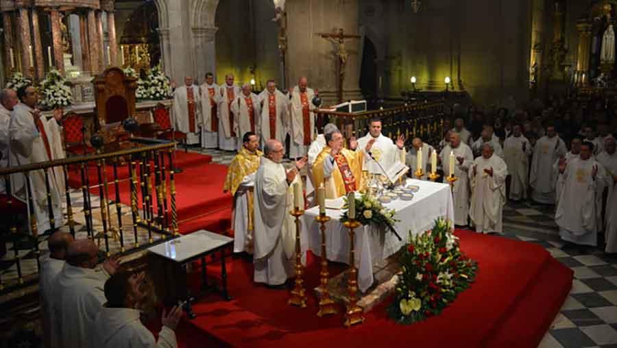 Misa despedida Obispo de Guadix