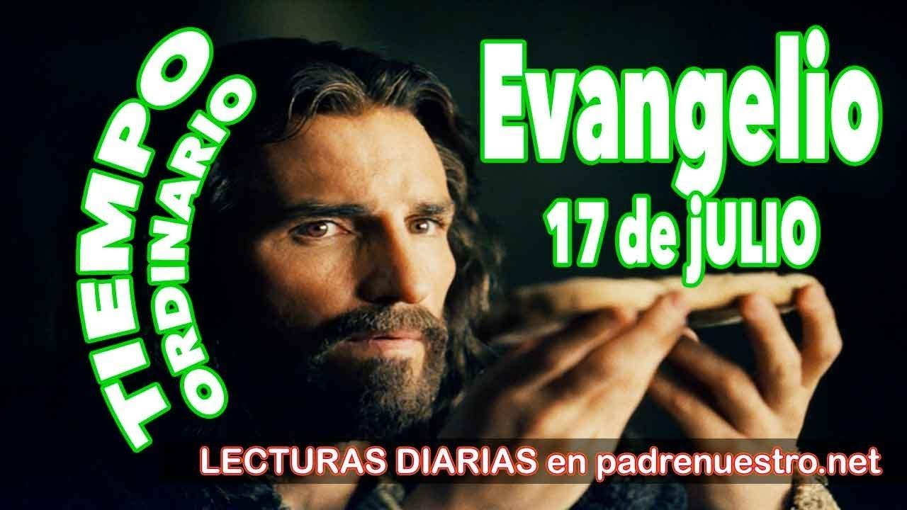 Evangelio del día 17 de Julio