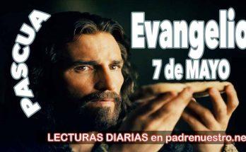 Evangelio del día 7 de mayo