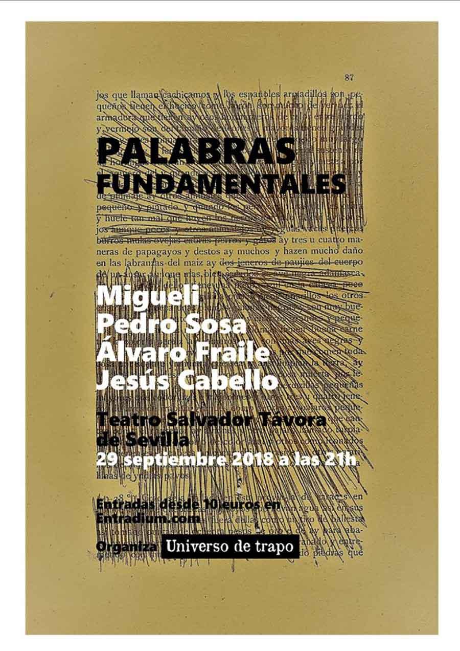 Concierto Migueli, Pedro Sosa, Alvaro Fraile y Jesús Cabello