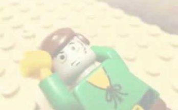 La parábola del buen samaritano realizada con piezas de Lego [Vídeo]