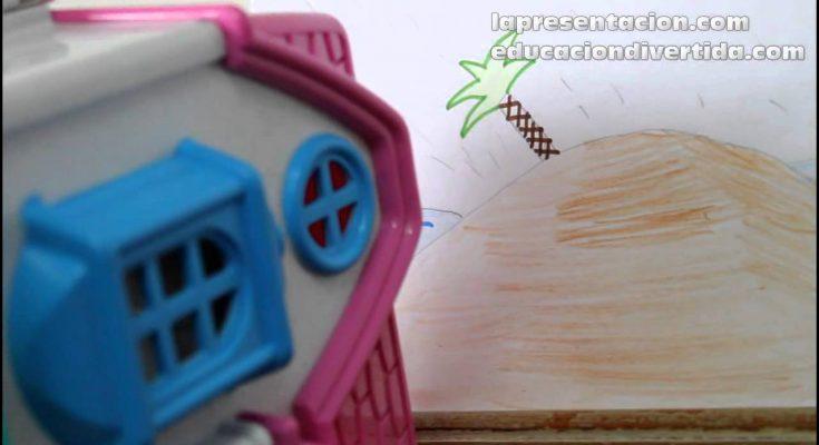 Parábola de la casa sobre la roca - educaciondivertida.com