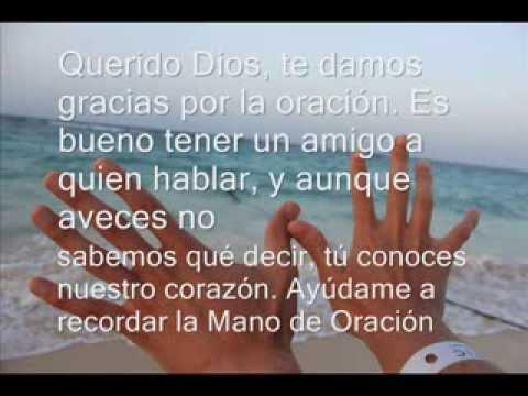 Vídeo Oraciones cristianas - La Oración de las manos
