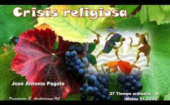 Crisis religiosa - Reflexiones cristianas