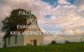 Evangelio del día viernes XXIX del tiempo ordinario