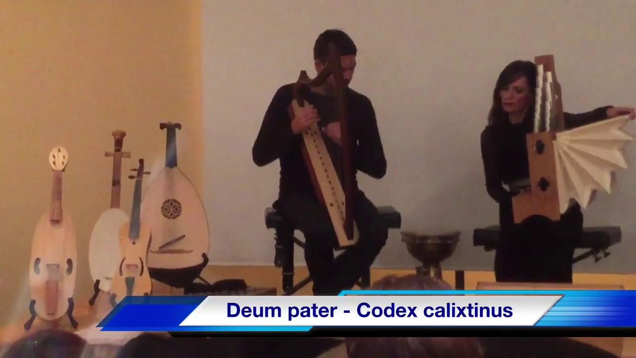 """Bella música antigua cristiana """"Deum pater"""" - Codex Calistinus"""
