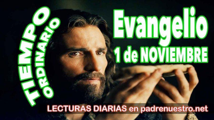 Evangelio del día 1 de noviembre