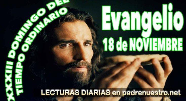 Evangelio del Dominngo XXXIII - Tiempo Ordinario Ciclo B