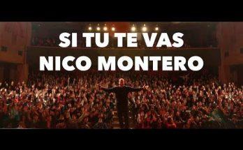 Nico Montero canta esta canción de amistad a Dios - Si tu te vas