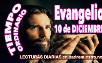 Evangelio del día 10 de diciembre