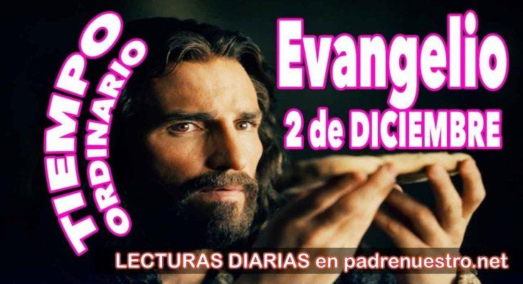Evangelio del día 2 de diciembre