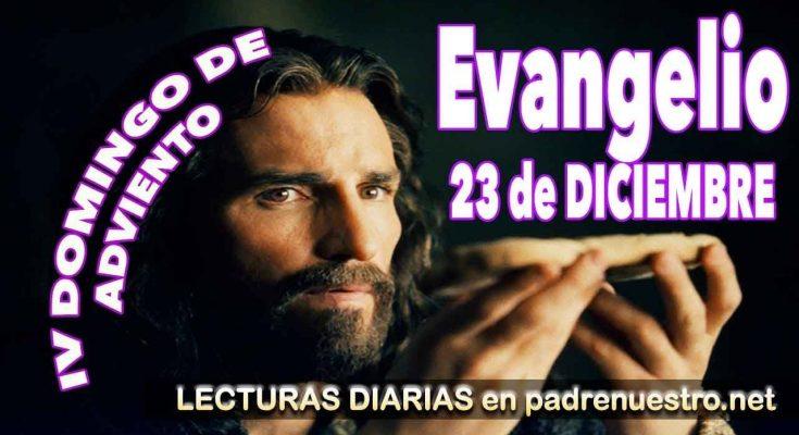 Reflexión del evangelio del cuarto Domingo de Adviento