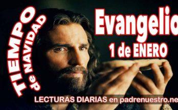 Evangelio del día 1 de enero