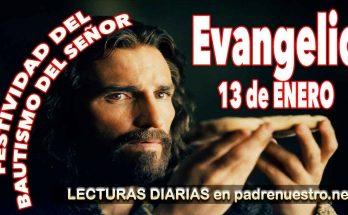 Reflexión del evangelio para el Bautismo del Señor