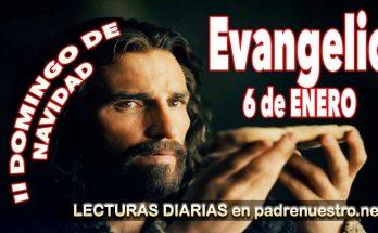 Evangelio del día 6 de enero