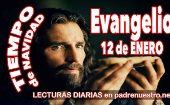 Evangelio del día 12 de enero