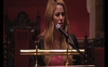Discurso de Shakira en Oxford Union