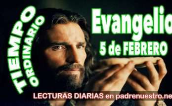Evangelio del día 5 de febrero