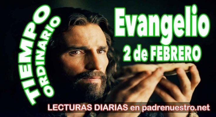 Evangelio del día 2 de febrero