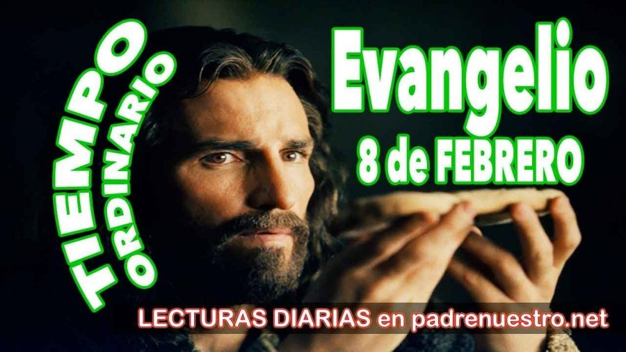Evangelio del día 8 de febrero