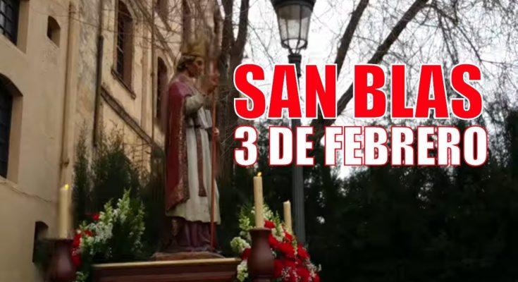 Festividad de San Blas