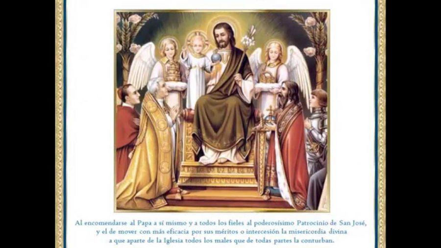 Hoy celebramos la festividad de San José, patrono de la iglesia universal