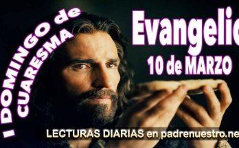 Evangelio para el primer domingo de Cuaresma