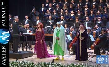 Emocionante Ave María en árabe para el Papa Francisco