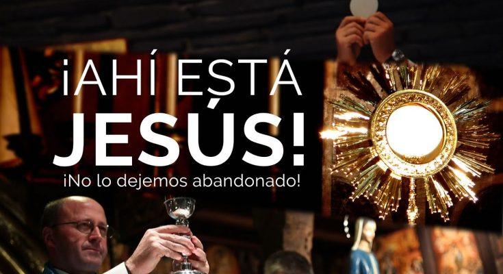 ¡ Ahí está Jesús ! - Corpus Christi