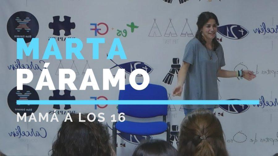 El ilusionante testimonio de Marta Páramo: madre a los 16