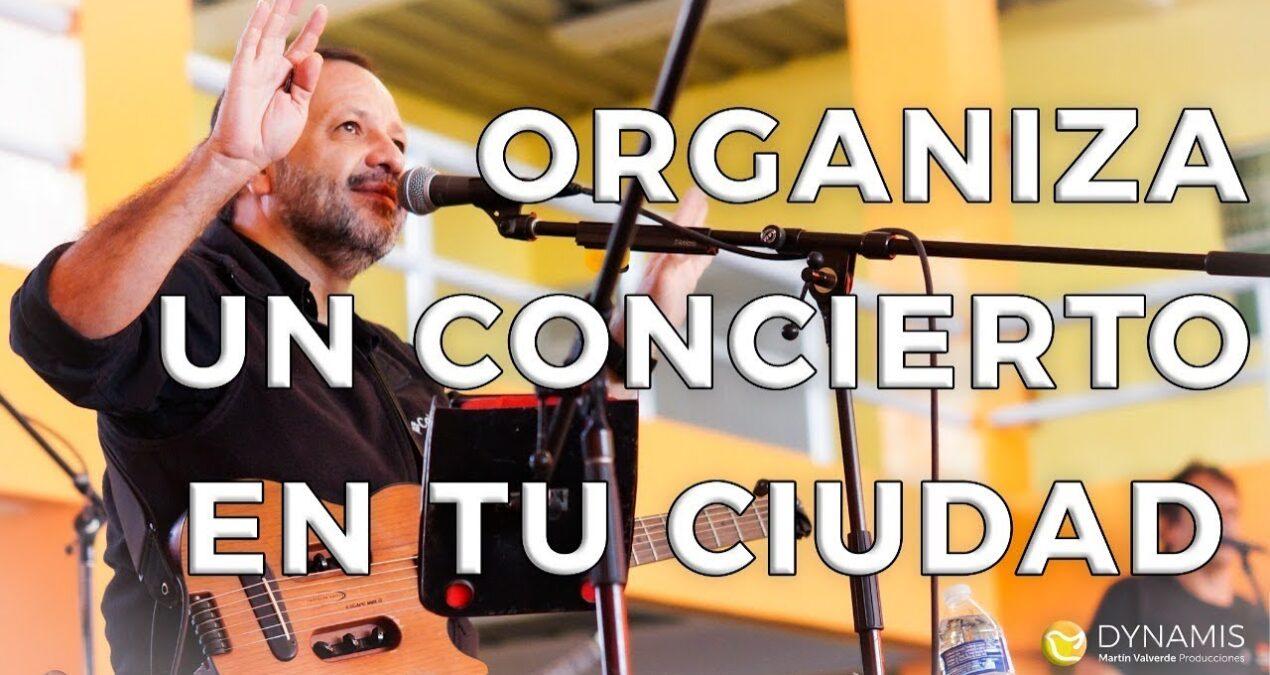 ¡Organiza un Concierto en Tu Ciudad! con Martin Valverde