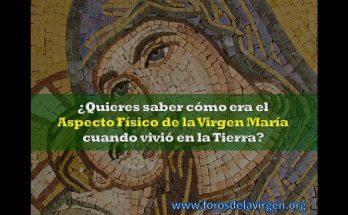 Aspecto físico de la Virgen María