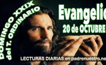 Reflexión del evangelio para el 29º Domingo del Tiempo ordinario