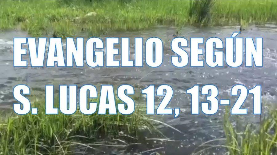Evangelio según San Lucas 12, 13-21
