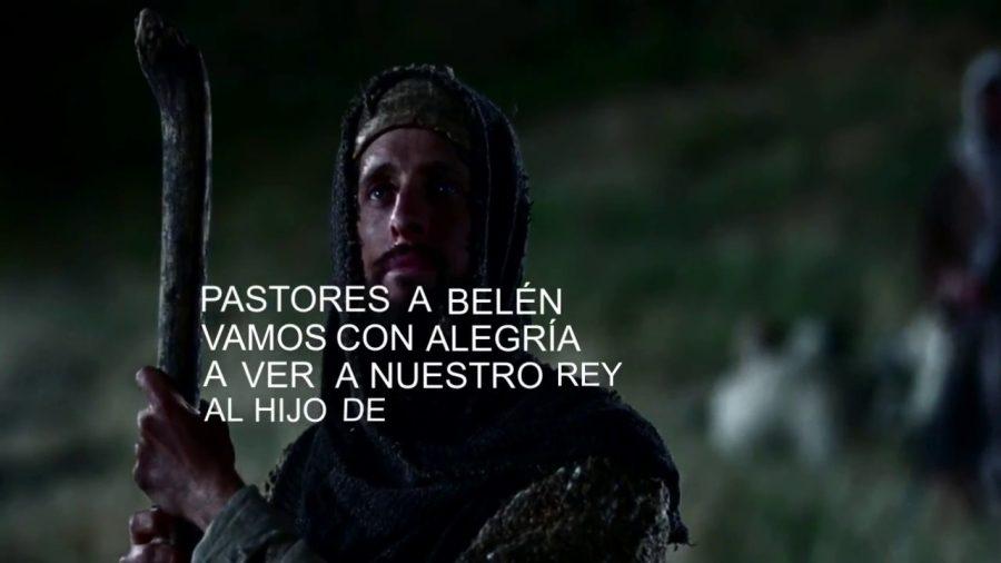 Pastores a belen vamos con alegria