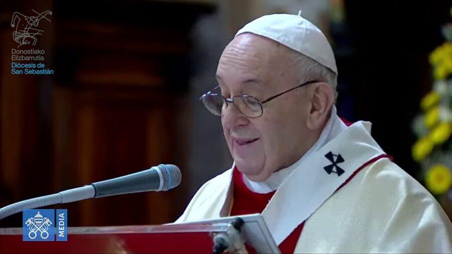 Homilía del Papa Francisco el Día de la Divina Misericodia