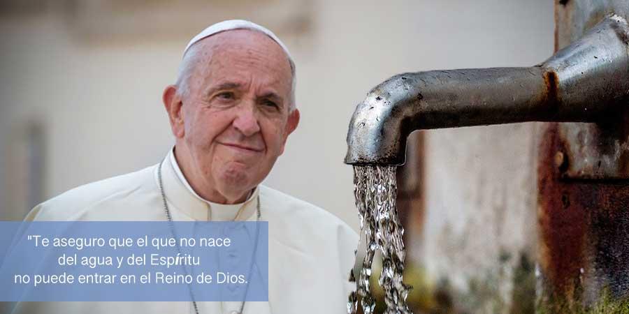 Nacer del agua y del Espíritu