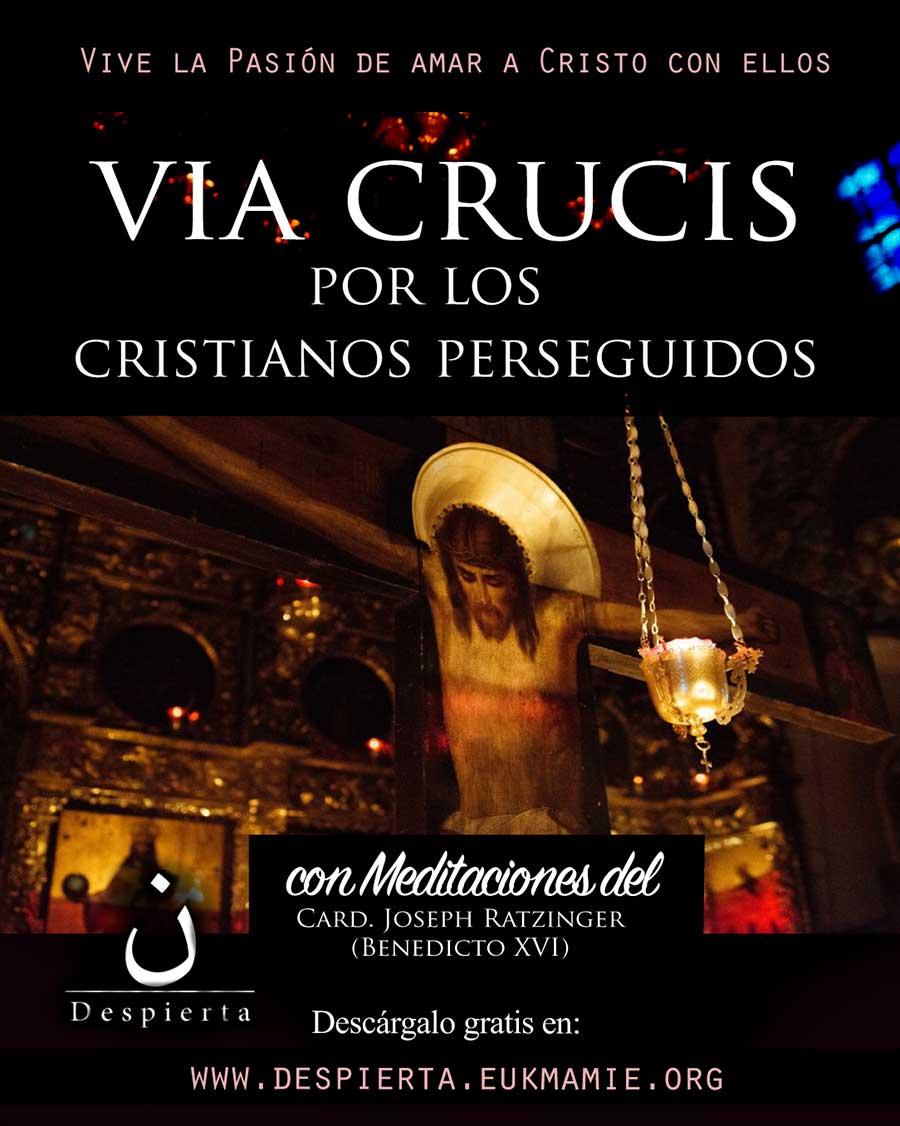 Via crucis por los cristianos perseguidos