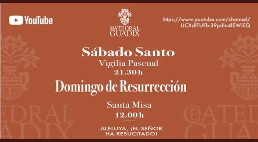 Vigilia Pascual y misa de Domingo de Resurrección