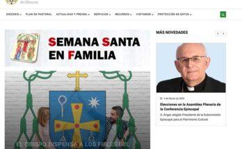 Web Diócesis de Albacete