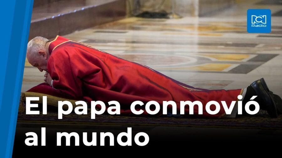 El Papa Francisco deja esta imagen conmovedora al mundo